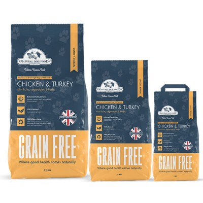 NDFC senior/light chicken&turkey grain free 6 kg