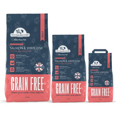 NDFC salmon & white fish grain free 12kg a 6kg