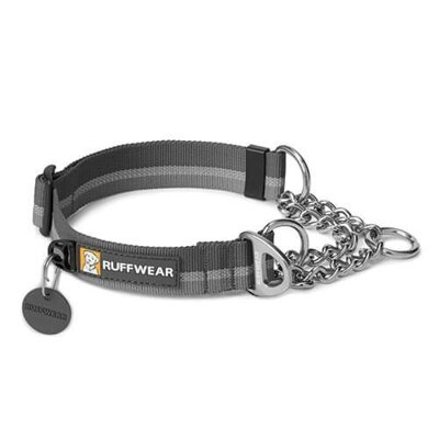 Obojok pre psy Ruffwear Chain Reaction™ Dog Collar šedý